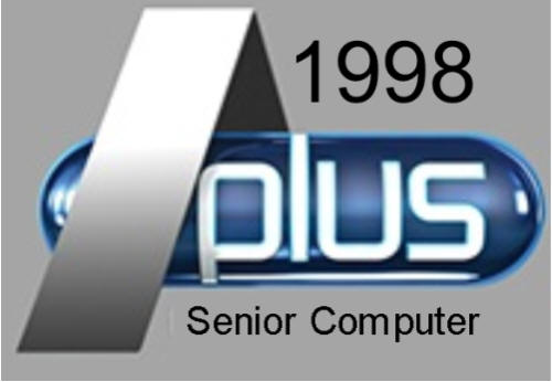 A Plus Senior Computer Logo
